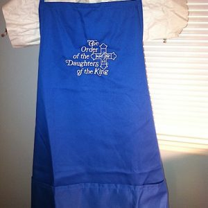 Embroidered DOK Apron