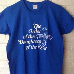 Blue Short Sleeve DOK T Shirt