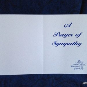 A Prayer of Sympathy Card