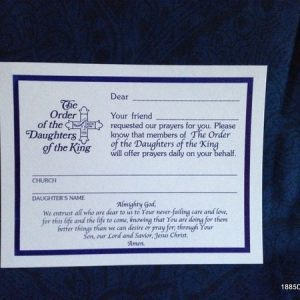 Your Friend Requested Prayer Post Card