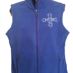 Royal Blue Fleece Vest