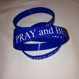 Pray and Believe Wristband