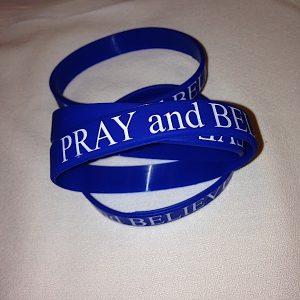 Pray and Believe Wristband