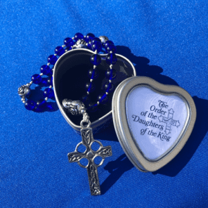 Anglican Rosary with the heart shaped box