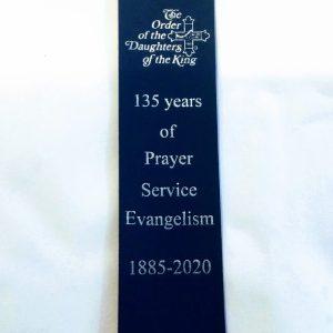 135 year Anniversary Leatherette Bookmark
